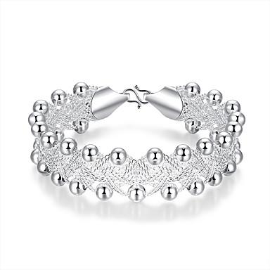 Buy Lureme® Fashion Silver Plated Jewelry Beads Braided Chain Bracelets Women