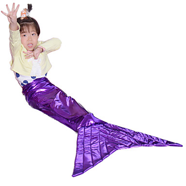 Buy Purple mermaid tail kids tails girls halloween costumes children cosplay party fancy dress