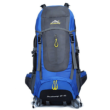 Buy Outdoor Mountaineering Bags 70L Hiking Backpack Men Women Travel Waterproof Nylon Camping Package