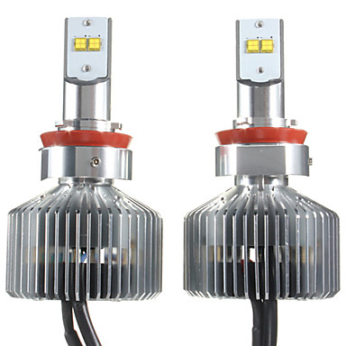 Buy 90W Touareg Car LED HeadLight Bulbs Elantra Headlight Kit H1 H3 H7 H11