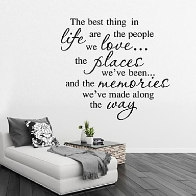 wall stickers best life quotes to decorate the living room decorate walls love phrase stickers