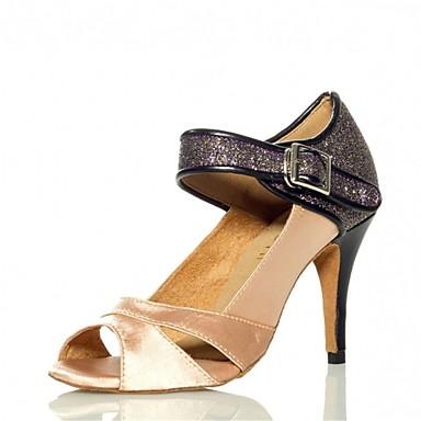 Latin Dance Shoes Ivory