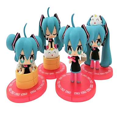 Buy Vocaloid Hatsune Miku 8-10CM Anime Action Figures Model Toys Doll Toy