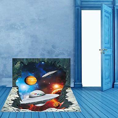 Vinilos Paredes Alien Spaceship Waterproof Wall Sticker