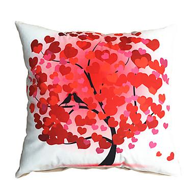 3d design print red tree love decorative throw pillow case for Insider design pillow