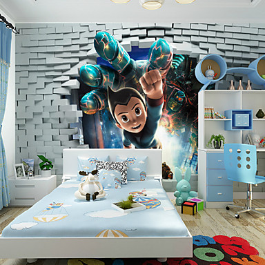 Buy JAMMORY Cartoon / Fantasy 3D Wall Stickers Stickers,Canvas Animation Large Mural S M L XL XXL 3XL