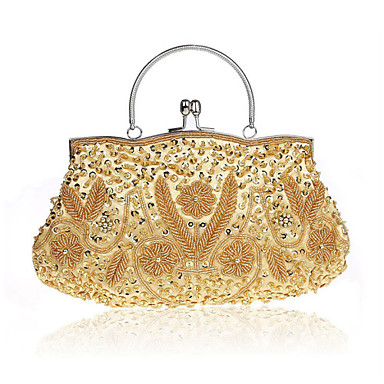 Buy L.WEST® Women's Handmade High-grade Retro Beaded Flower Party/Evening Bag