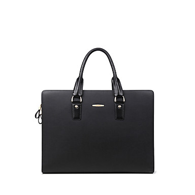 Buy NAWO Men Cowhide Tote Black-N153253M