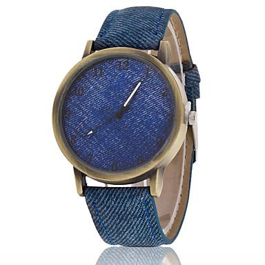 herren armbanduhr quartz armbanduhren f r den alltag stoff band schwarz wei marke 4993067. Black Bedroom Furniture Sets. Home Design Ideas