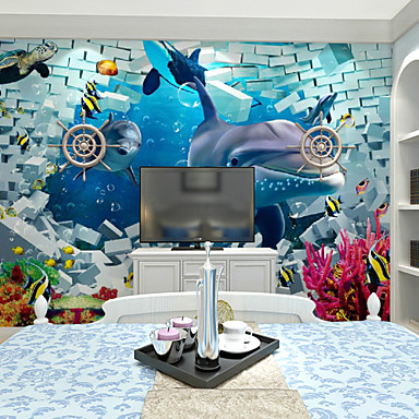 Buy JAMMORY Large Mural Animals / Still Life Landscape 3D Wall Stickers ,Canvas S M L XL XXL 3XL