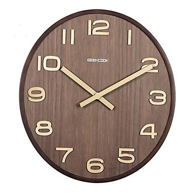 Moderne contemporain autres horloge murale autres bois horloge de 5020128 2017 for Horloge murale bois moderne