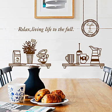 Diy dining room background wall sticker plane wall - Dining room wall art stickers ...