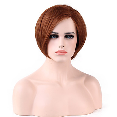 Buy Fashion Lace Front Bob Straight Virgin Hair Wig 9 Colors Choose
