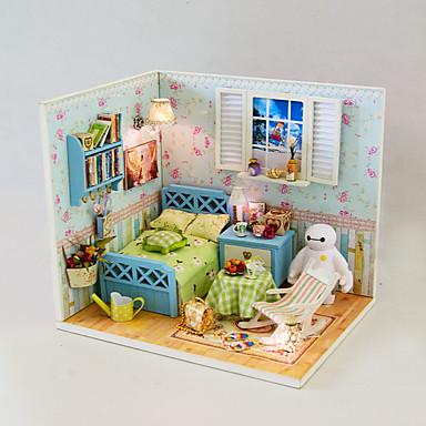 1pc diy huis dikke liefde creatieve gaven een verjaardagscadeau educatief speelgoed verlichting - Huis lamp wereld nachtkastje ...