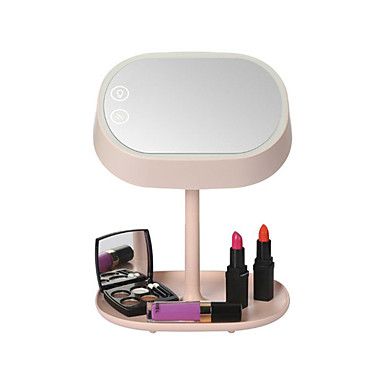 mart lighted makeup vanity mirror with table lamp for