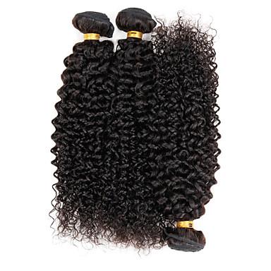 brazilian virgin hair curly wave 3 bundles human hair