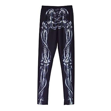 Buy Punk Lolita Pants N/A White / Black Dress Terylene(Free Size)