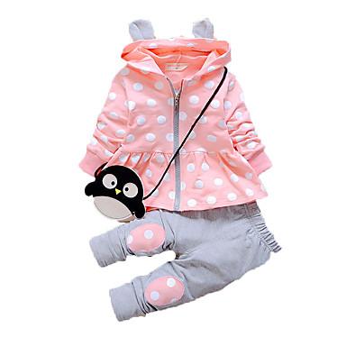 Casual/Daily Print Clothing Set,Cotton Fall Long Sleeve Regular