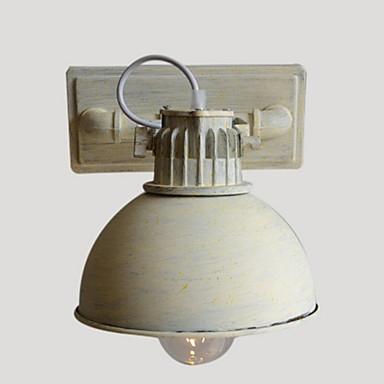 Buy Brand New Nostalgic Vintage Iron Loft Aisle Wall Lamp Balcony North Europe wrought iron wall sconce E26/E27 lights