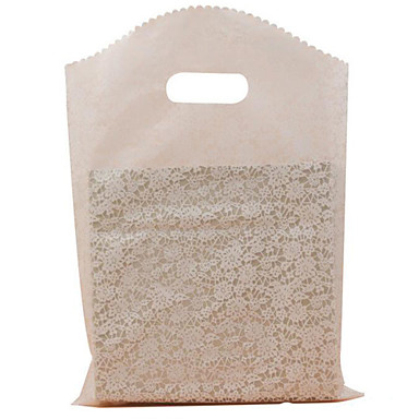 Boutique gift bags pe plastic shopping bags 25 35cm for Wholesale t shirt bags