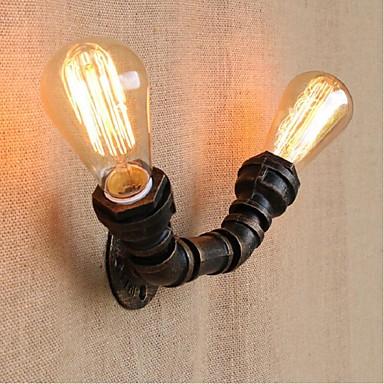 AC 220V-240V 40W E27 BG806-2 Nostalgia Simple Water Pipe Decorative Small Wall Lamp Wall Light ...