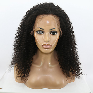 natural black color kinky curly hairstyle brazilian virgin
