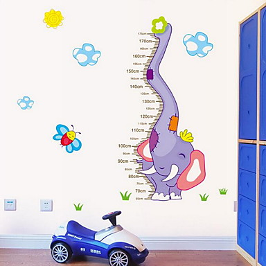 Height Scale Wall Sticker Vinyl Material Home Decoration