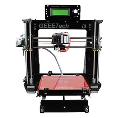 Geeetech 8mm Acrylic RepRap Prusa Mendel I3 3D Printer DIY Kit 1.75mm Filament / 0.3mm Nozzle