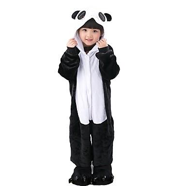 cerca autentico vendita online scarpe a buon mercato [$26.99] Per bambini Pigiama Kigurumi Panda Pigiama a pagliaccetto Flanella  Nero / Bianco Cosplay Per Ragazzi e ragazze Pigiama a fantasia animaletto  ...