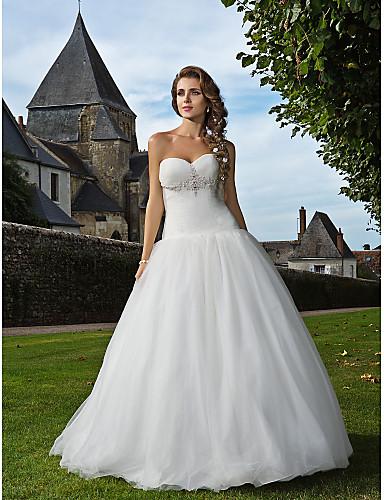 Bride® Leger & Aufgebauscht Extraklein / Übergrößen Hochzeitskleid ...