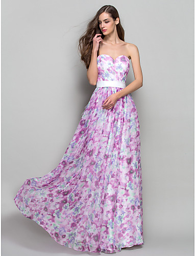 Vestidos longos estampados florais