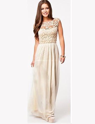 женская мода кружевном платье