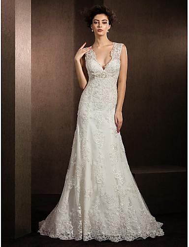 Vestido de noiva tradicional