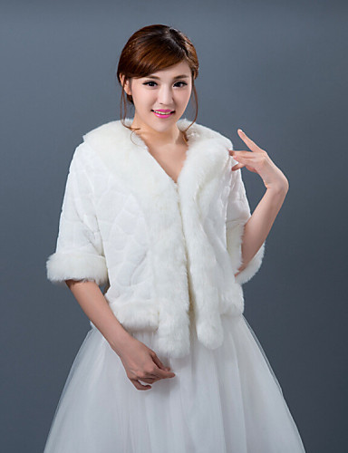 Winter wedding robe coat bridesmaid dresses shawl 4431864 for Winter shawls for wedding dresses