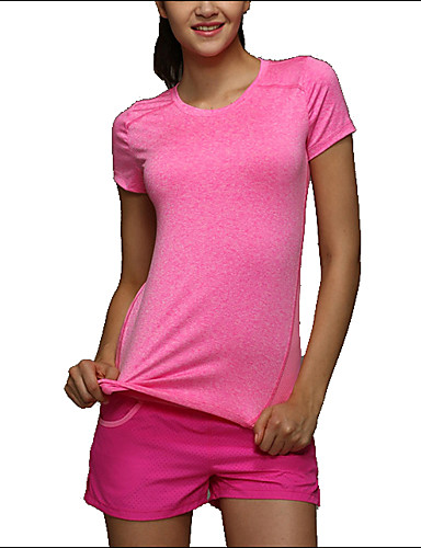Buy Shaperdiva Women's Short Sleeve Compression Gym T Shirt Workout Tops