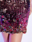 Cocktail Party/Holiday Dress Sheath/Column Strapless Short/Mini Sequined