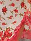 여성제품 슈미즈 & 가운 / 울트라 섹시 잠옷여성의 레이스 / 오간자 퍼플 / 멀티 색상