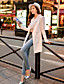 İş V-Yaka - Uzun Kol KADIN - Suits & Blazers ( Polyester )