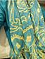 여성제품 귀여운 / 캐쥬얼 실크 스카프 컬러 블럭