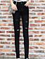 Kvinders Simpel Jeans Bukser Mikroelastisk Polyester