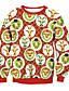 Damen Pullover Lässig/Alltäglich 3D-Druck Einfarbig Rundhalsausschnitt Mikro-elastisch Elasthan Langarm Herbst Winter
