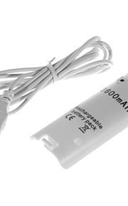 Oplaadbare batterij (3600mAh) voor Wii remote controller