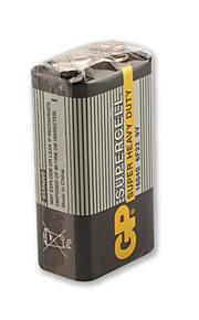 gp 9v 1604s/6f22 Super Heavy Duty cell batteri (aftensmad glad pligt)