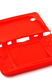 silicone beschermende huid / case voor de Nintendo DSi LL / XL (rood)