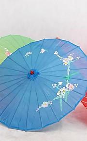 Blue Silk Parasol