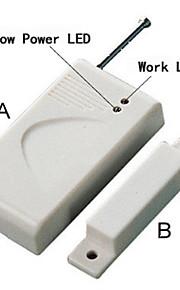 draadloze deur / raam magneetcontact + 433 m