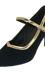 искусственная кожа / бархат верхней танцевать бальные туфли современной обуви для женщин