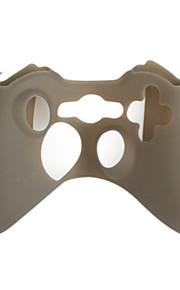 beschermhoes voor de Xbox 360 controller (transparant zwart)