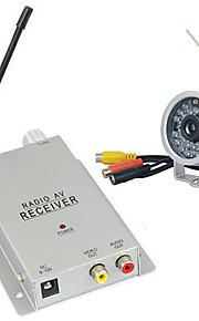 nueva cámara inalámbrica de circuito cerrado de televisión con el conjunto de micro receptor (1.2GHz, visión nocturna, 1 / 3 pulgadas CMOS)