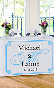Table Centerpieces Personalize  Reception Desk Table Runner - Elegance  Table Deocrations